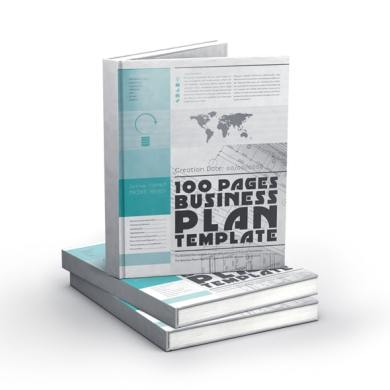 100 Pages Business Plan Template Letter – kfea 3-min
