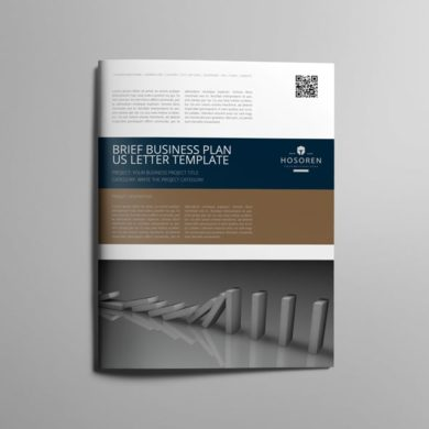 Brief Business Plan US Letter Template – kfea 1-min