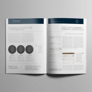 Brief Business Plan US Letter Template – kfea 3-min