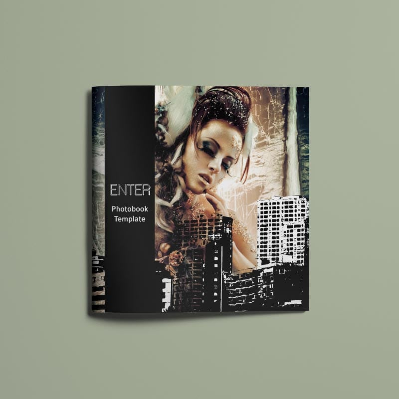 Enter - Photobook Template