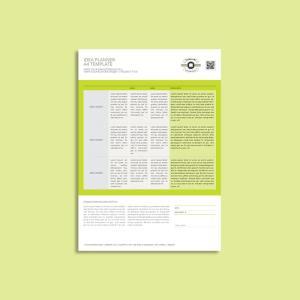 Idea Planner A4 Template