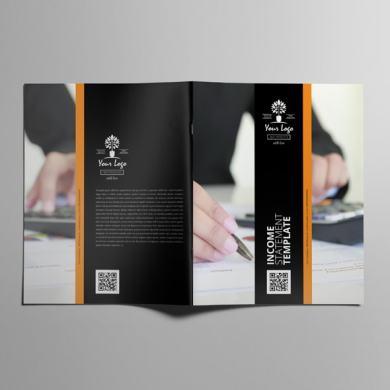 Income Statement Template US Letter – kfea 4-min