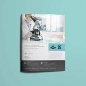 Job Cost Estimation US Letter Booklet Template