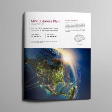 Mini Business Plan US Letter Template – kfea 4-min