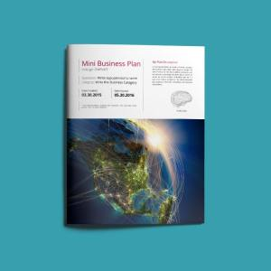 Mini Business Plan US Letter Template