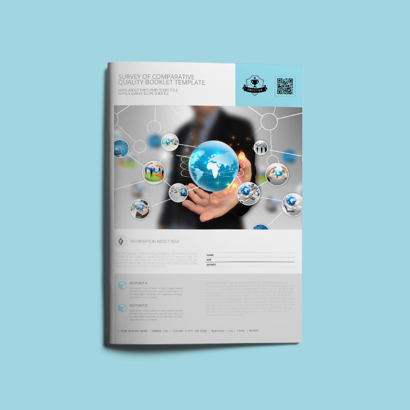 Survey of Comparative Quality Booklet Template