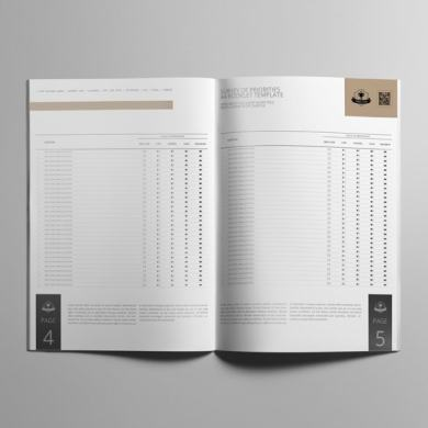 Survey of Priorities A4 Booklet Template – kfea 1-min