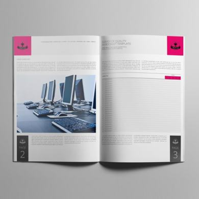 Survey of Quality A4 Booklet Template – kfea 3-min