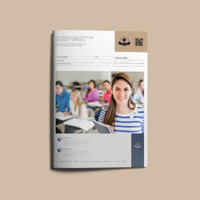 Training Evaluation A4 Booklet Template