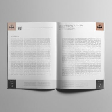Training Evaluation US Letter Booklet Template – kfea 4-min