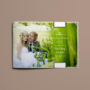 Vintage Wedding Photobook Template