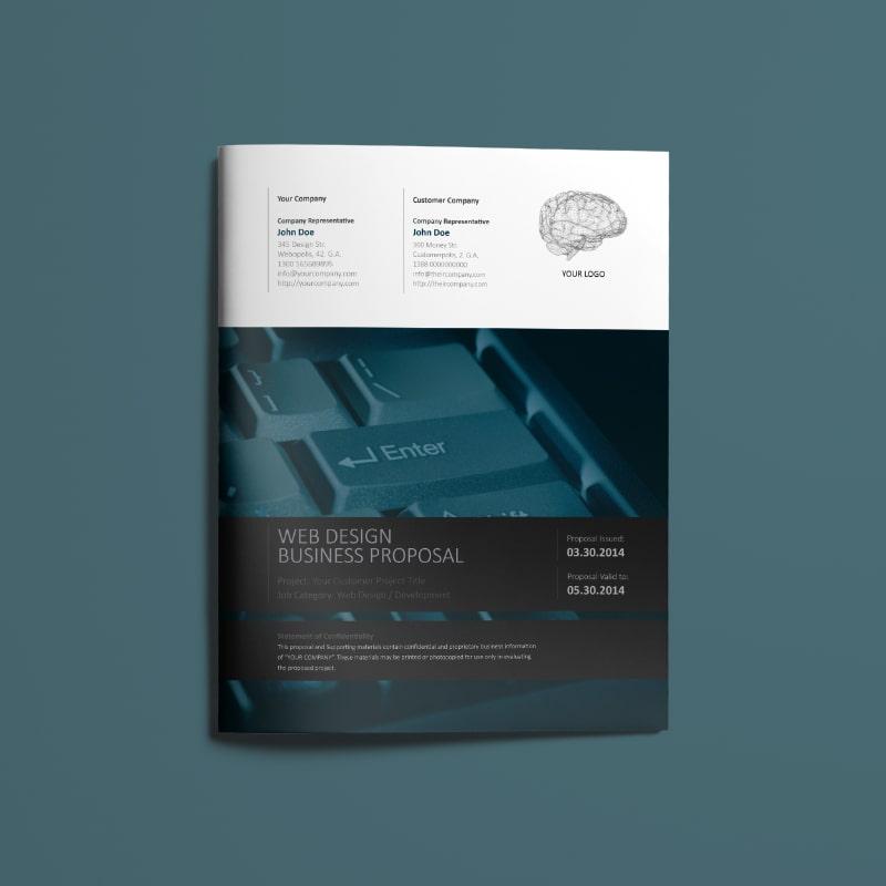 Web Design Proposal US Letter