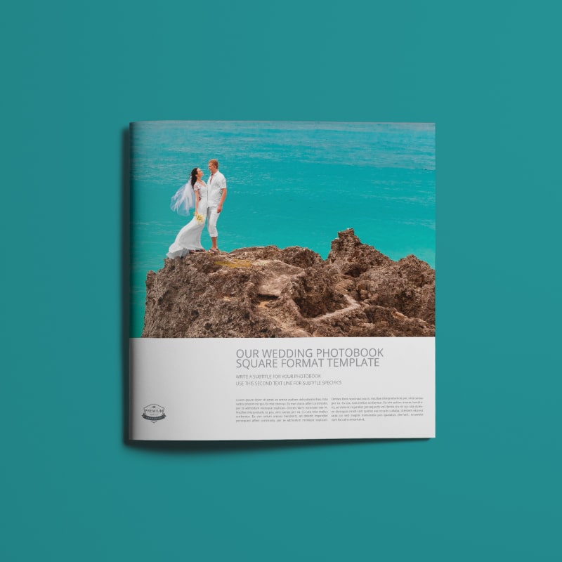 Wedding Photobook Template D