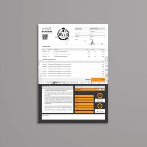A4 Invoice Template