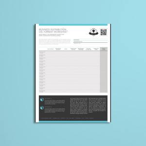 Business Distribution USL Format Worksheet