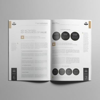 Business Model A4 Booklet Template – kfea 1-min