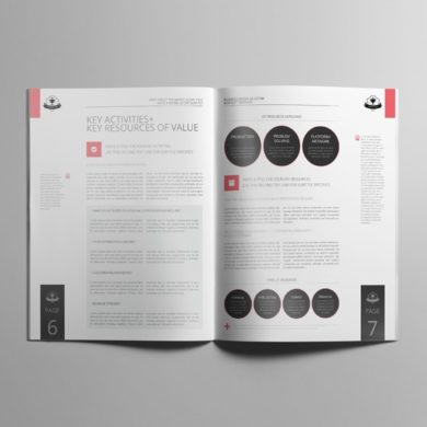 Business Model US Letter Booklet Template – kfea 1-min