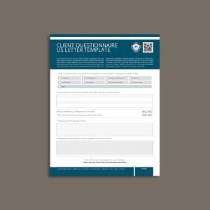Client Questionnaire US Letter Template