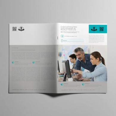 Client Satisfaction Questionnaire A4 Booklet Template – kfea 3-min