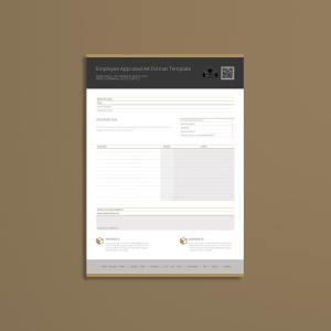 Employee Appraisal A4 Format Template
