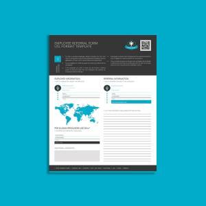Employee Referral Form USL Format Template