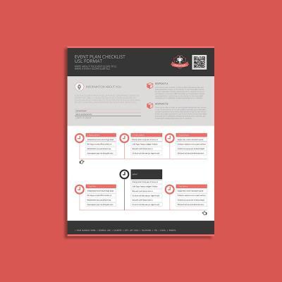 Event Plan Checklist USL Format