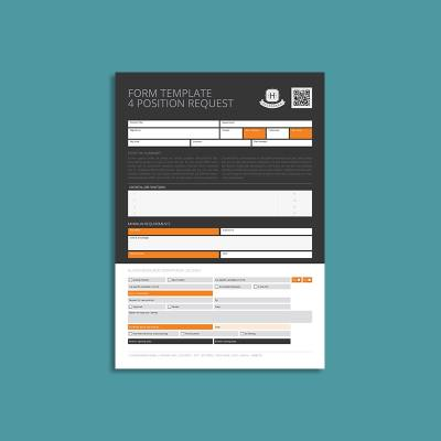 Form Template 4 Position Request