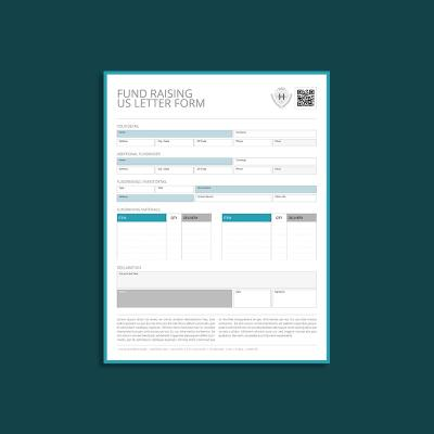 Fund Raising US Letter Form