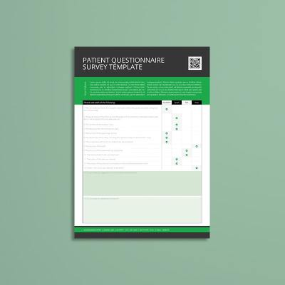 Patient Questionnaire Survey Template