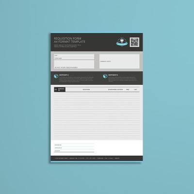 Requisition Form A4 Format Template