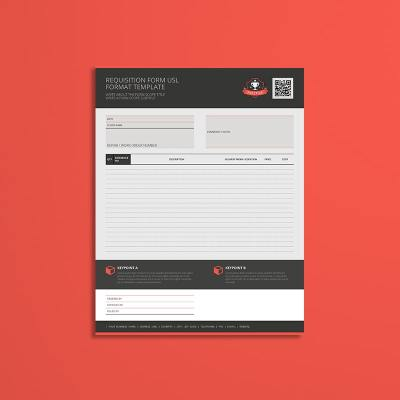 Requisition Form USL Format Template
