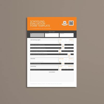 Schooling Evaluation Form Template