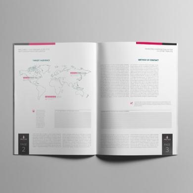 Marketing Campaign Evaluation US Letter Template – kfea 1-min