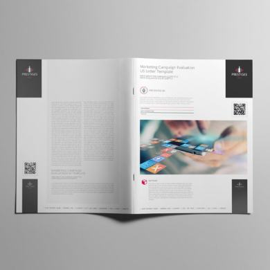 Marketing Campaign Evaluation US Letter Template – kfea 4-min