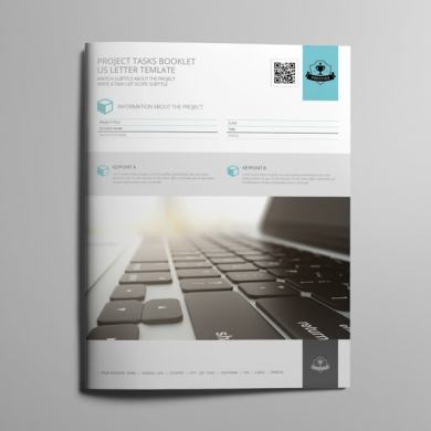Project Tasks Booklet US Letter Template – kfea 1-min