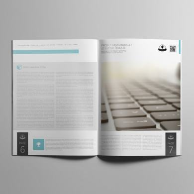 Project Tasks Booklet US Letter Template – kfea 4-min