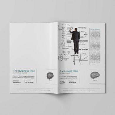THE Business Plan – Multipurpose Template v2 – kfea 2-min
