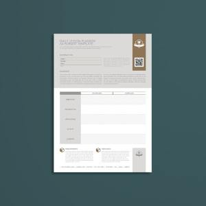 Daily Lesson Planner A4 Format Template