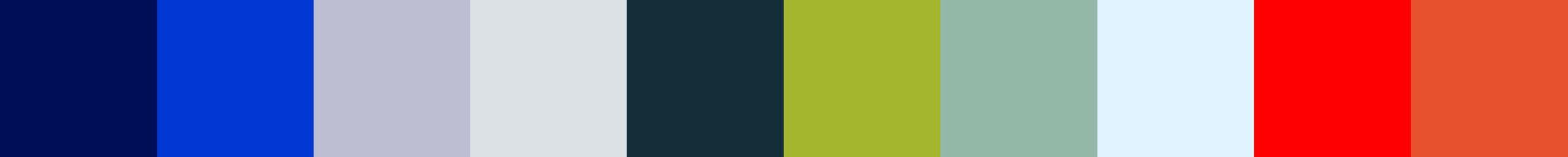 110 Kamatia Color Palette