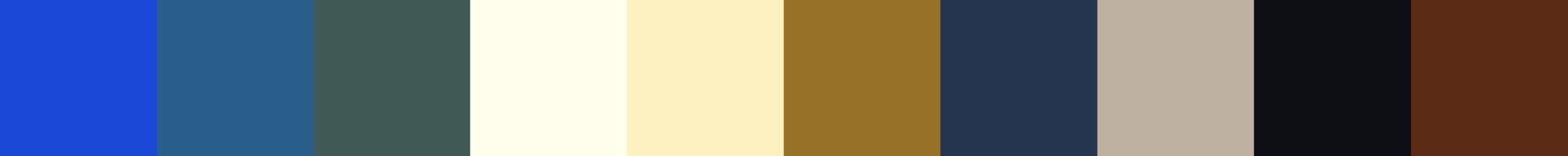 118 Porlana Color Palette