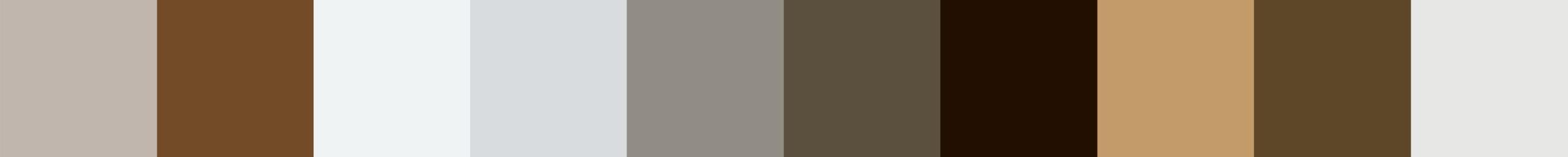 121 Archaia Color Palette