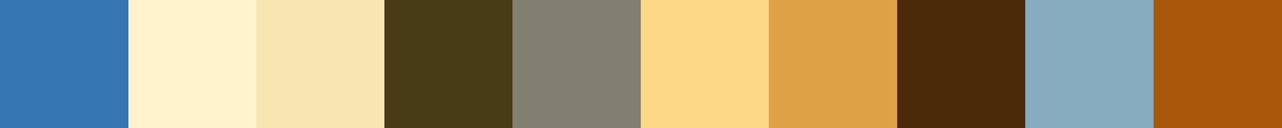 136 Gebethra Color Palette