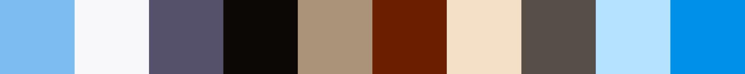 154 Touraja Color Palette