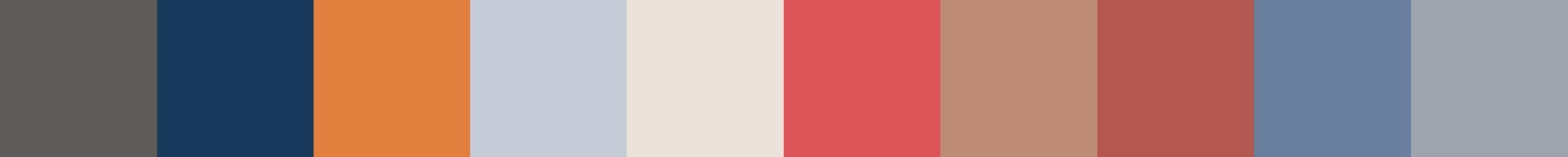 158 Kaphedia Color Palette