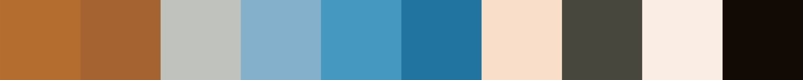 162 Miodola Color Palette