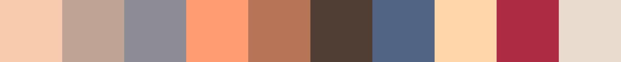 189 Aimiarana Color Palette