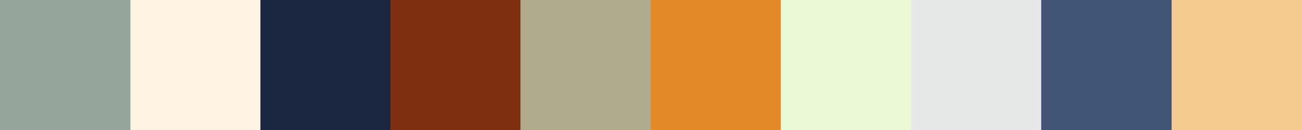 192 Fepolada Color Palette
