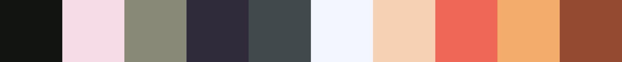 206 Zoquillera Color Palette