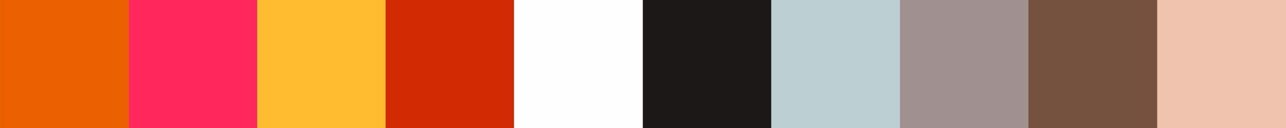 208 Lakrizela Color Palette