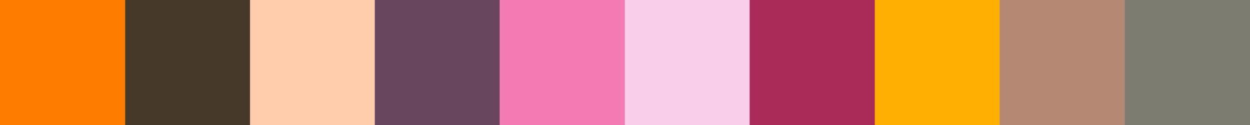 225 Sachexia Color Palette